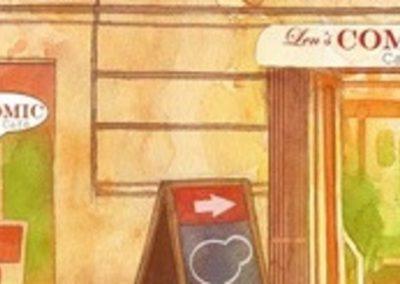 Len's Comic Café