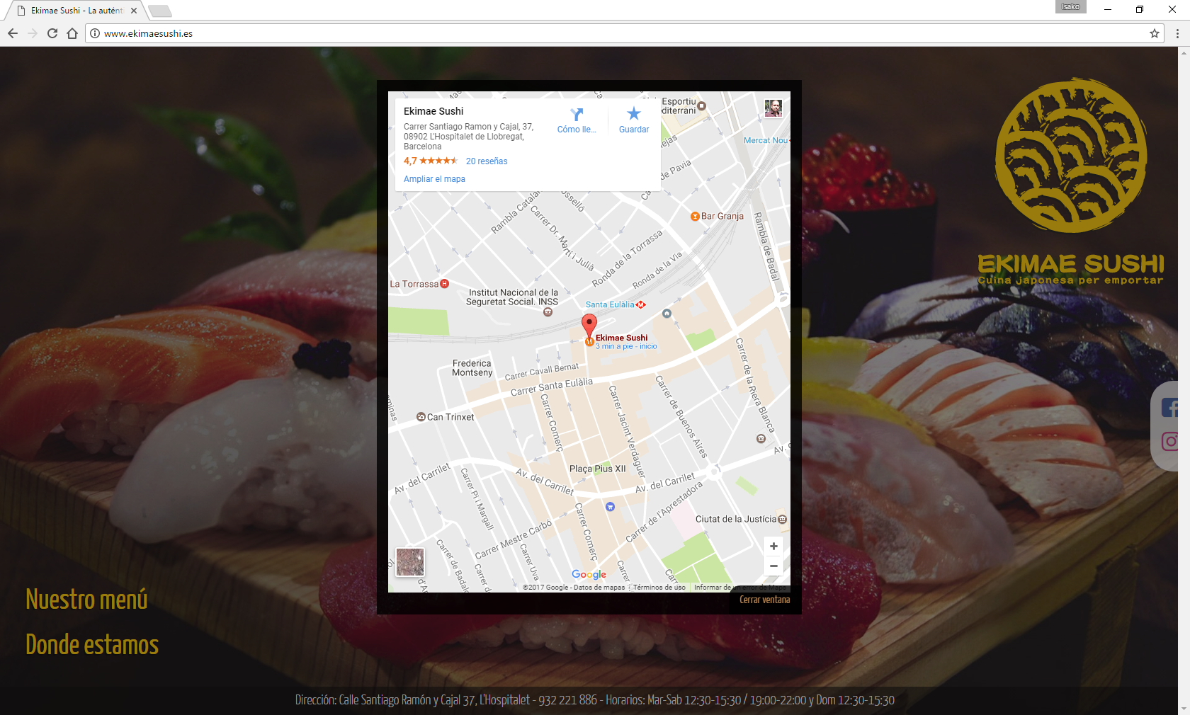 Integración con Google Maps